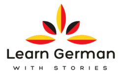 Learn German with Stories logo