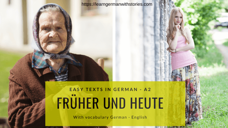 Easy texts German A2
